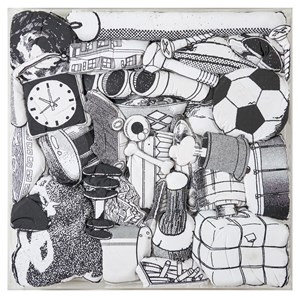 Games, Dance & the Constructions ( Soft Toy ) #27 遊戲、舞與結構(填充玩具)#27 by Teppei Kaneuji contemporary artwork