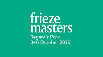Contemporary art exhibition, Frieze Masters 2019 at Thomas Dane Gallery, London