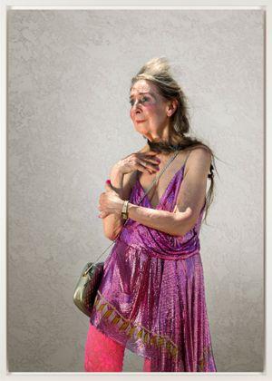 Linda, Hollywood by Katy Grannan contemporary artwork