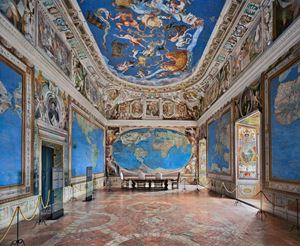 Villa Farnese, Sala del Mappamondo, Caprarola by Ahmet Ertug contemporary artwork