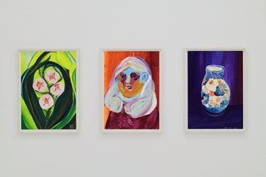 Exhibition view: Aki Kondo, Today Waiting for That Day and Tomorrow,Shugo Arts, Tokyo(8 September–29 September 2018). Courtesy Shugo Arts.