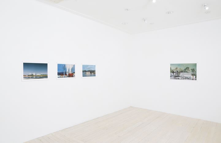 Exhibition view: Elaine Campaner, Petri Dish, Gallery 9, Sydney (22 March–15 April 2017). Courtesy Gallery 9.