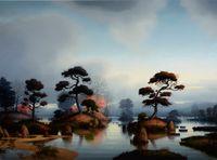 Season of Showers by Alexander McKenzie contemporary artwork painting