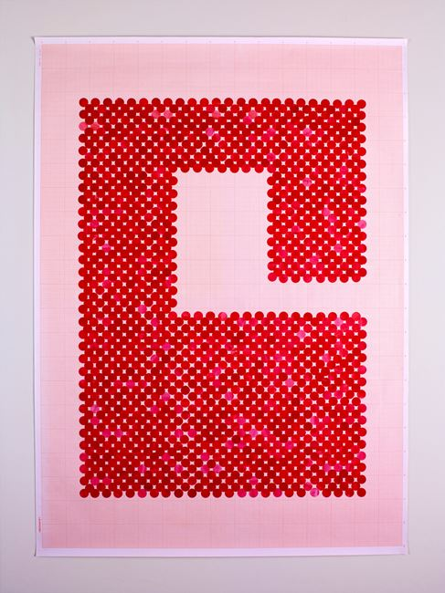 Switch (Series 2: Number 3) by Lubna Chowdhary contemporary artwork
