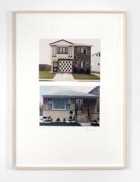 House, Staten Island, New York City; House, Perth, Australia by Dan Graham contemporary artwork photography