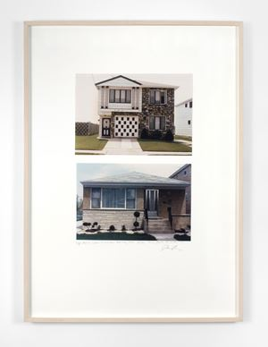 House, Staten Island, New York City; House, Perth, Australia by Dan Graham contemporary artwork