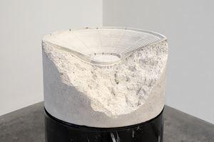 Proyecto de columna-anfiteatro (Arquitectura de la discusión) I / Project for a Column-Amphitheater (Architecture of Discussion) I by Jorge Méndez Blake contemporary artwork