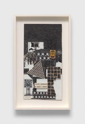 Untitled(Judy Garland) by Ray Johnson contemporary artwork