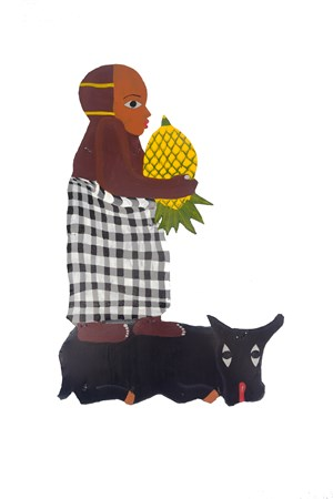 Pineapple Man by Jumaadi contemporary artwork