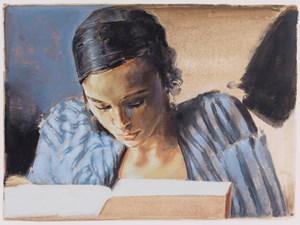His Book by Jan De Maesschalck contemporary artwork