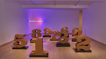 Waddington Custot contemporary art gallery in London, United Kingdom