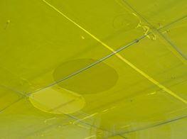 "Ian Kiaer<br><em>Endnote, yellow</em><br><span class=""oc-gallery"">Barbara Wien</span>"
