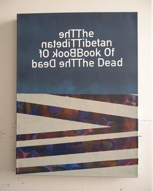 The Tibetan Book Of The Dead (6) by Heman Chong contemporary artwork