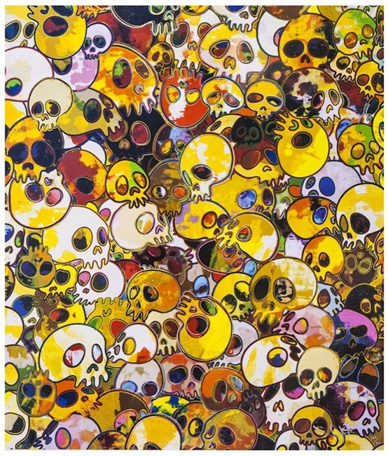 MGST, 1962- 2011* by Takashi Murakami contemporary artwork