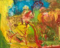 Landscape No. 105 by Hans Hofmann contemporary artwork painting