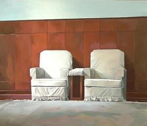 Two Leaders by Liu Weijian contemporary artwork