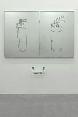Two Lighters by Gao Lei contemporary artwork