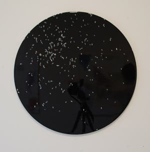 Constellation (chance painting) #2 by Elliot Collins contemporary artwork