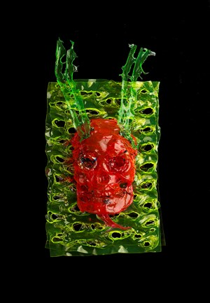 Devil 2 by Kesang Lamdark contemporary artwork