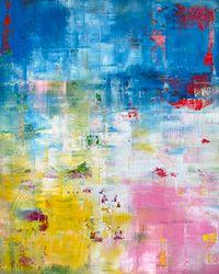 Life at Dusk by Sassan Behnam-Bakhtiar contemporary artwork painting