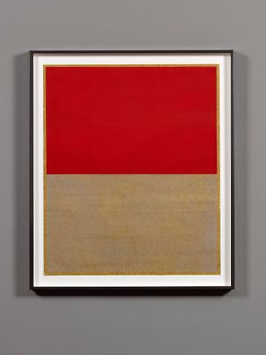 Untitled (from the Cento series) by Callum Innes contemporary artwork