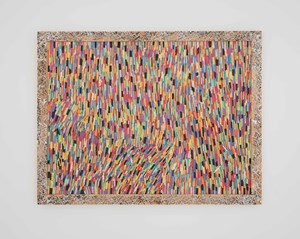 Chalk A by Pascale Marthine Tayou contemporary artwork mixed media