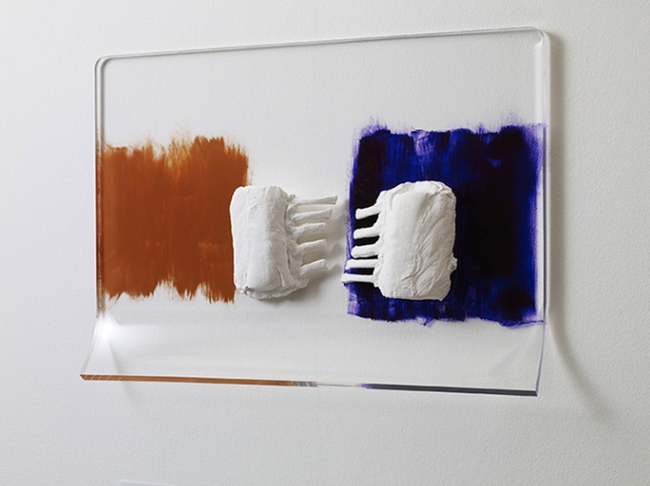 Marble Doesn't Smile by Rosemarie Trockel contemporary artwork