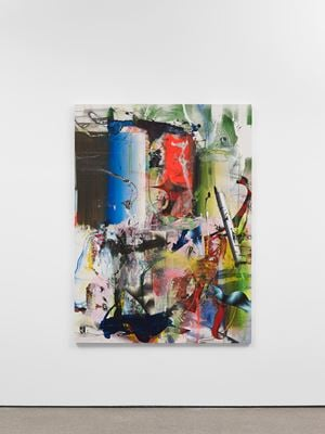 Untitled (from the field) by Liam Everett contemporary artwork painting, works on paper, drawing