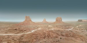Sunset Boulevard, Monument Valley, #001 by Francesco Jodice contemporary artwork