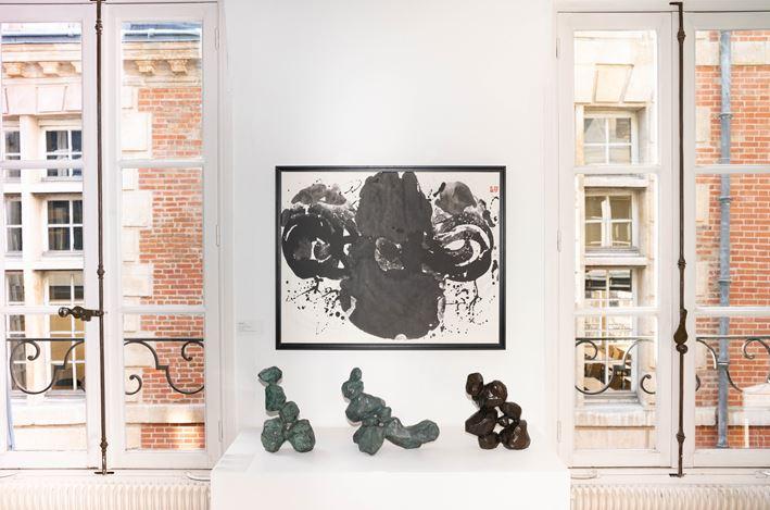 Exhibition view: Ma Desheng, L'âme hors des pierres, A2Z Art Gallery, Paris (16 May –15 June 2019). Courtesy A2Z Art Gallery, Paris.