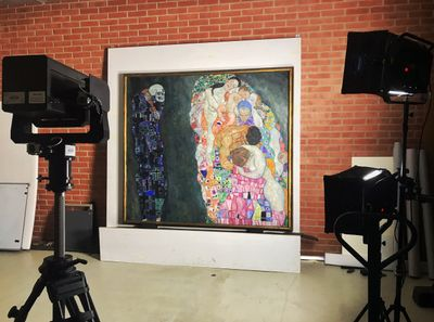 Google Reconstructs Lost Gustav Klimt Paintings With Machine Learning