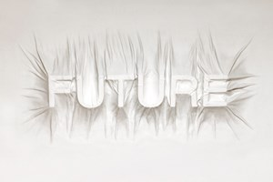 FUTURE by Daniel Arsham contemporary artwork