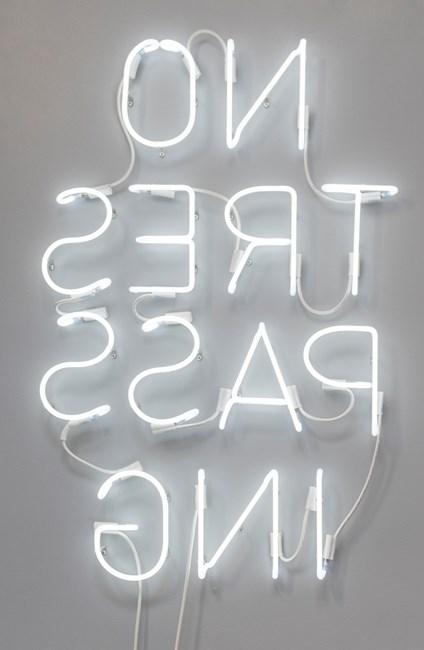 NO TRESPASSING by Glenn Kaino contemporary artwork