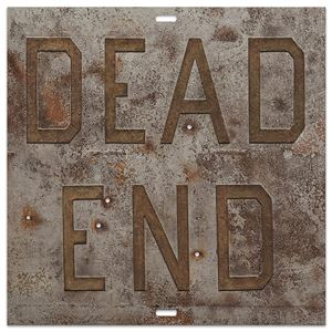Rusty Signs - Dead End 1 by Ed Ruscha contemporary artwork