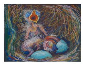 Robin's nest 2 by John Kelsey contemporary artwork