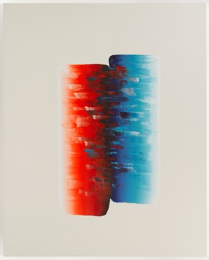 Dialogue by Lee Ufan contemporary artwork painting