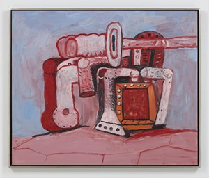 Forms on Rock Ledge by Philip Guston contemporary artwork painting