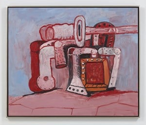 Forms on Rock Ledge by Philip Guston contemporary artwork