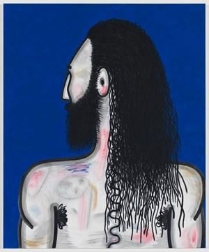Wrestler (3) by Carroll Dunham contemporary artwork
