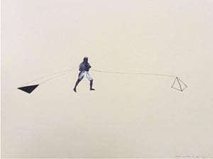 Pulling the Shadow by Shreyas Karle contemporary artwork