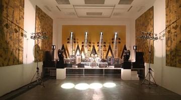 Contemporary art exhibition, Zhang Ding, Orbit of Rock at ShanghART, Beijing