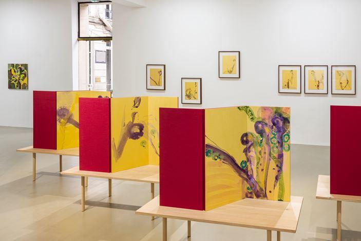 Exhibition view: Gabriel Orozco, Galerie Chantal Crousel, Paris (7 September–5 October 2019) Courtesy the artist and Galerie Chantal Crousel, Paris. Photo: Florian Kleinefenn.