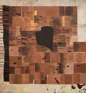 Paradise Shift by Ellen Gallagher contemporary artwork
