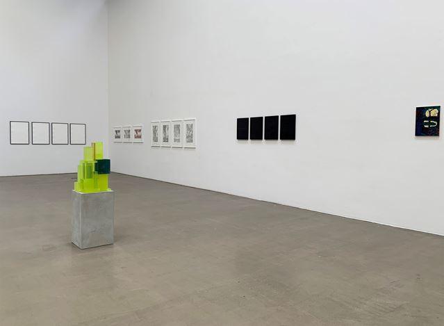Exhibition view: Group Exhibition, reloaded,Galerie EIGEN + ART, Leipzig (28 May–15 July 2020). Courtesy Galerie EIGEN + ART.
