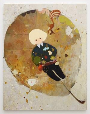 Fallen Leaf Carpet by Tomoko Nagai contemporary artwork