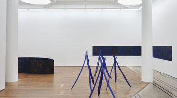 Contemporary art exhibition, Richard Frater, Pauline Rhodes, Bluets at Michael Lett, Auckland