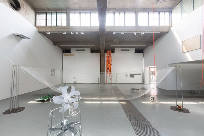 Exhibition view: Tant Zhong,The Quick Brown Fox Jumps Over The Lazy Dog, Tabula Rasa Gallery, Beijing (28 August–1 November 2020). CourtesyTabula Rasa Gallery.