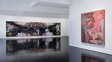 Contemporary art exhibition, Ben Quilty, 150 Years at Tolarno Galleries, Melbourne