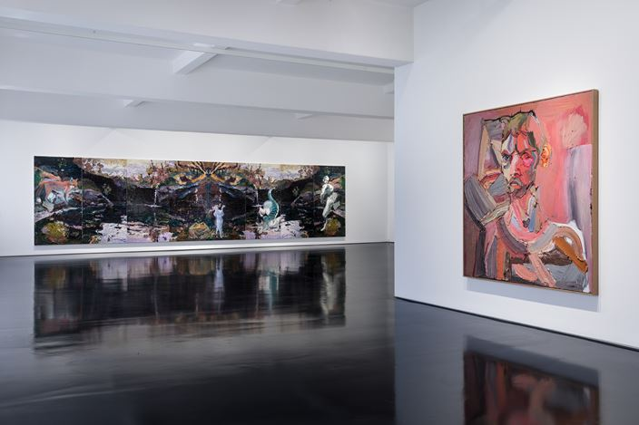 Exhibition view: Ben Quilty, 150 Years, Tolarno Galleries, Melbourne(8–29 February 2020). Courtesy Tolarno Galleries.