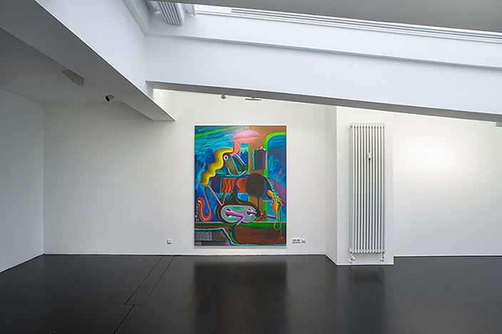Exhibition view: Group Exhibition,Boy Meets Girl, CHOI&LAGER Gallery, Cologne (9 March–6 May 2018). Courtesy CHOI&LAGER Gallery.